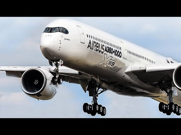 FARNBOROUGH AIR SHOW 2018 - AIRBUS A330NEO, A350, BOEING 787 ... (inofficial AFTERMOVIE) (4K)