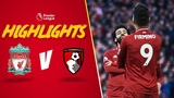 Firmino's outrageous assist for Salah Liverpool 3-0 Bournemouth Highlights