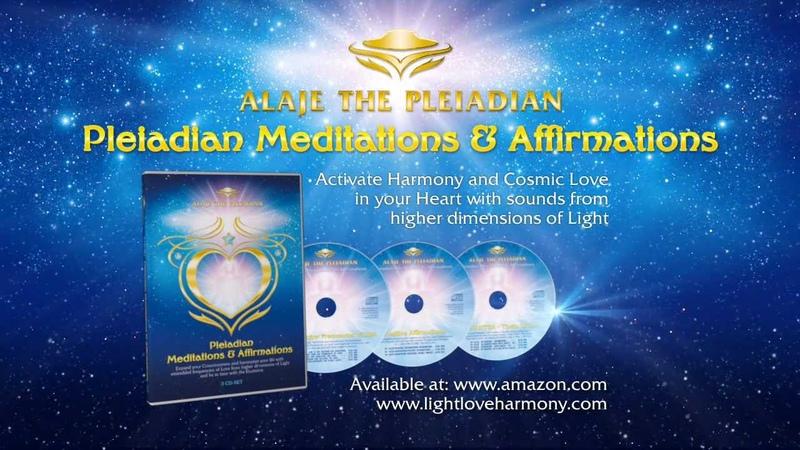 ALAJE THE PLEIADIAN - 3 CD SET - MEDITATIONS and AFFIRMATIONS