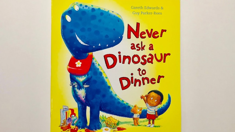 Never ask a Dinosaur to Dinner Read Aloud by Books Read Aloud For Children