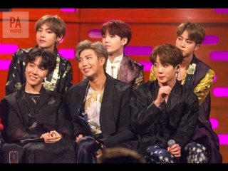 BTS on The Graham Norton Show | BTS на Шоу Грэма Нортона