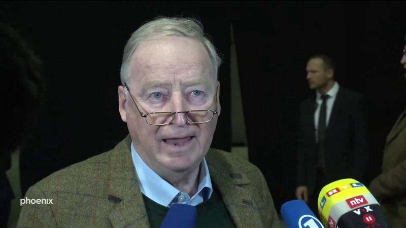 AfD-Europawahlversammlung mit Statements Gauland, Meuthen, Weidel, Storch am 11.01.2019