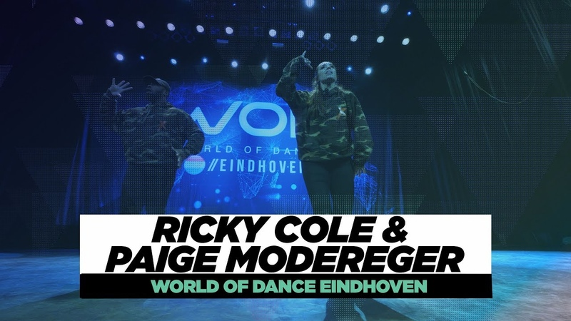 Ricky Cole Paige Modereger | FRONTROW | World of Dance Eindhoven Qualifier 2018|WODEIN18