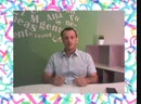 Послушайте, как разговаривает учитель нашего языкового центра на иностранном языке