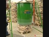 Удобная система для хранения дров