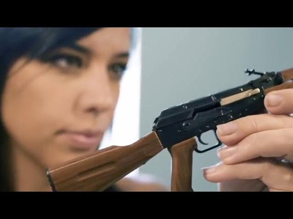Alex Zedra assembling MINI AK47