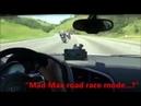 Ауди R 8 против мотоцикла