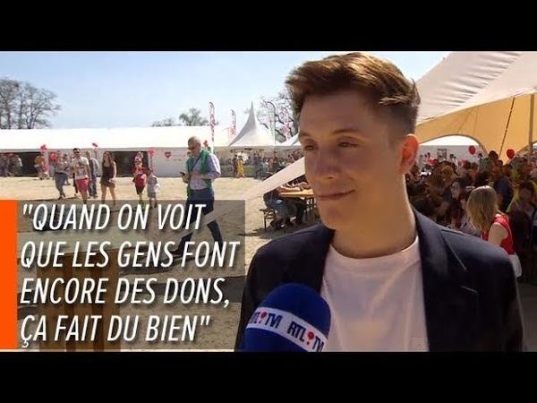 Loic Nottet , RTL Info Televie 22.04.2019