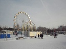 Новосибирск набережная ледяной городок