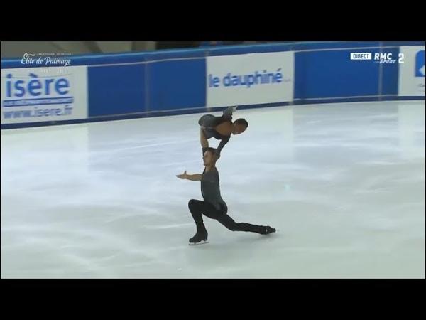 Vanessa JAMES / Morgan CIPRES Free Skate French National Figure Skating Championships 2018