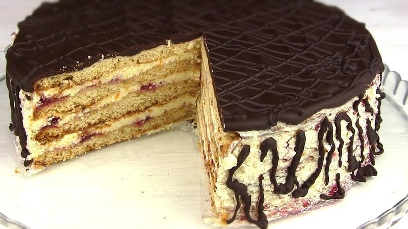 ТортСТЕФАНИЯ/Бесподобный медово-песочный торт