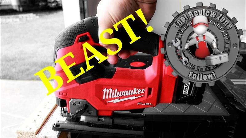 Milwaukee M18 Fuel Jigsaw REVIEW! 2737-21 (FIRST LOOK!)