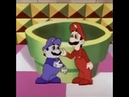 Mario and Luigi handshake