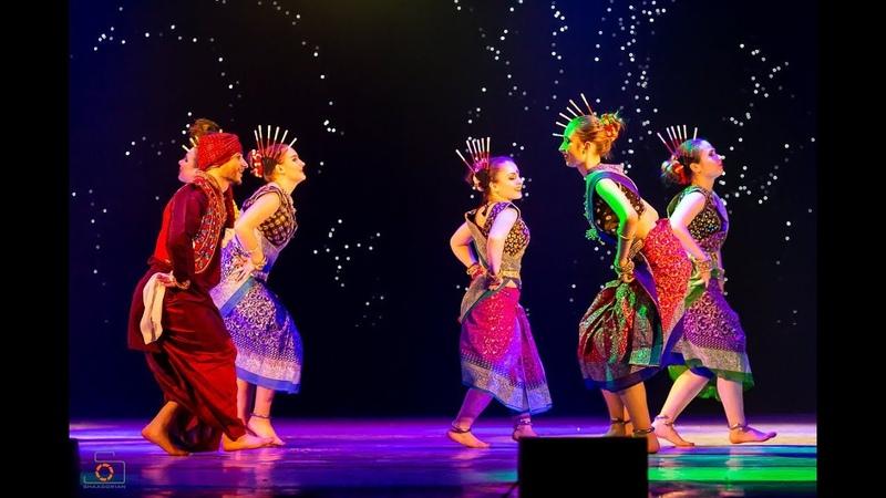 Rangabati Rangaboti Sambalpuri Odisha dance Amrita dance group Moscow