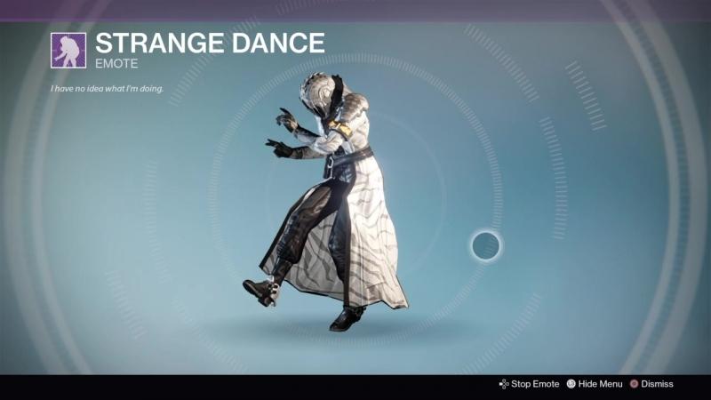 Destiny_20180123 WHITE-BLACK WARL WOMEN vers41. STRANGE DANCE .