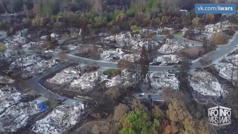 Пожары в Калифорнии 2018. Природный феномен или спланированная атака