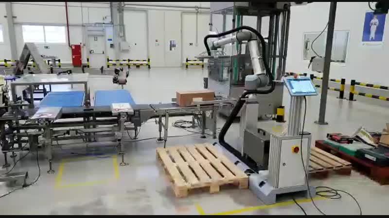 Enercom Robotics UR10e Palletizer