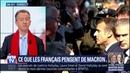 ÉDITO Que pensent les Français de Macron C'est extrêmement violent affirme Christophe Barbier
