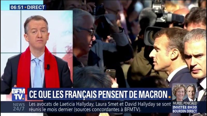 ÉDITO - Que pensent les Français de Macron ? C'est extrêmement violent affirme Christophe Barbier