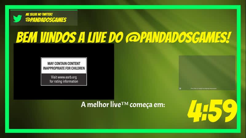 COACHPVP COACHESO ESOBR Cola na Melhor Live O RETORNO DAS LIVES DIARIAS!