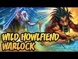 Hearthstone Wild Howlfiend Warlock