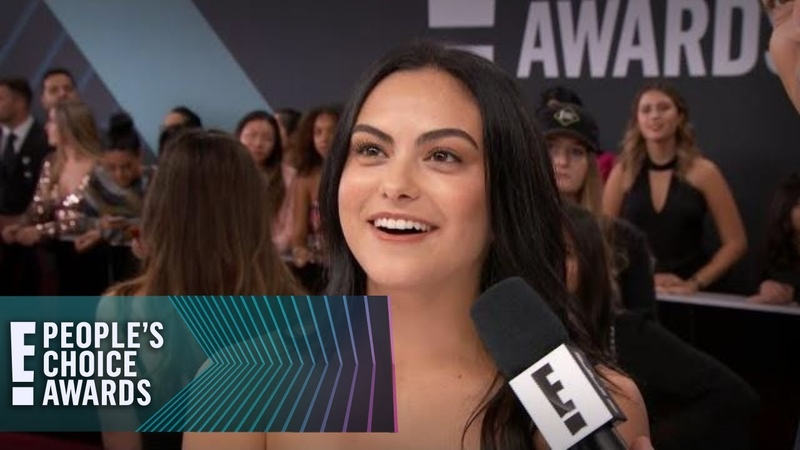 Camila Mendes Gets a Riverdale Surprise at the E PCAs E People's Choice Awards