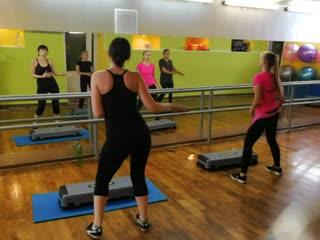 Фитнес клуб Пантера. Тренировка Танцевальная аэробика