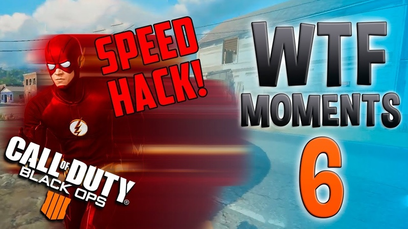 SPEEDHACK IN BLACK OPS 4 | BLACK OPS 4 WTF Daily Moments Ep. 6