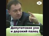 Заседание Госдумы ухо депутата Быкова и дерзкий палец Чернышева ROMB