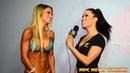 2015 NPC Nationals Bikini Overall Champ Allysa Germeroth Interview with India Paulino
