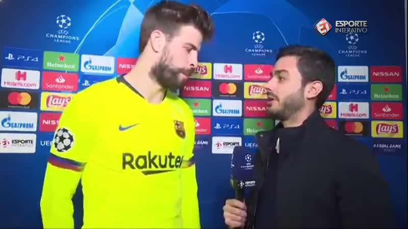 - Boa noite, Gerard. - - Boa noite. Faremos em catalão - - Sim, podemos Eu gosto. - - E no