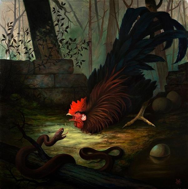 «Петух и змея» (2009 год)
