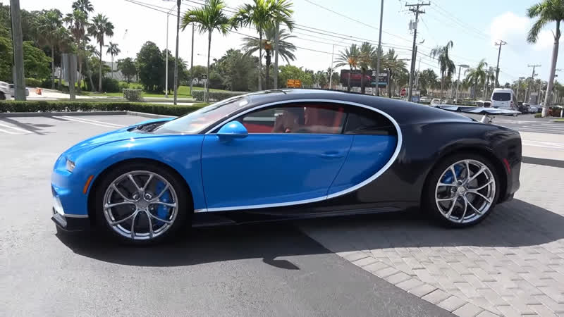 Bugatti Chiron Start up Interior Exterior $3 Million 1,500HP HYPERCAR at Prestige Imports Miami
