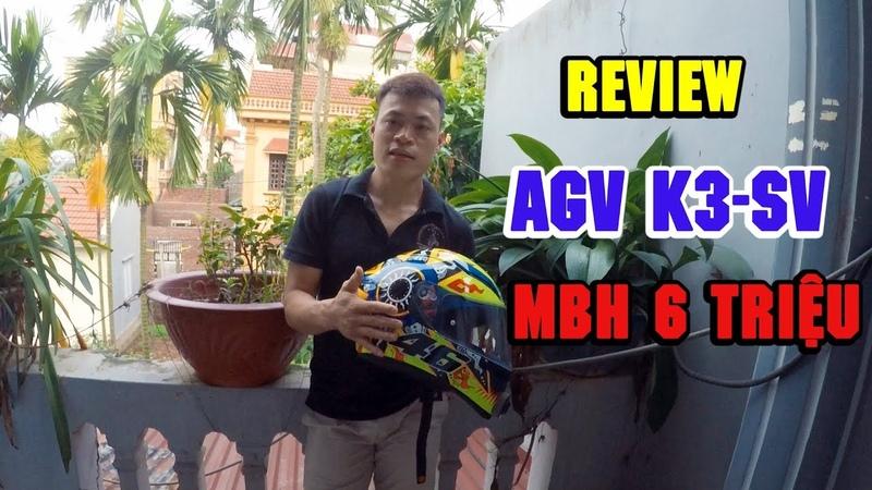 Review mũ bảo hiểm AGV K3-SV sau một thời gian sử dụng