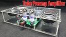 Assembling a Mini Tube Preamp Amplifier Speaker