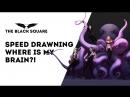 Speed Drawning - Where Is My Brain?! (speed 14 часов - 19 минут)