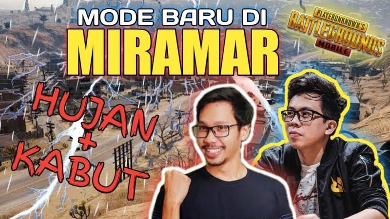 MODE BARU TURUN HUJAN KABUT DI MIRAMAR PUBG MOBILE INDONESIA
