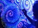 Polymorphium live fluorescent performance