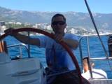 В Крыму на яхте