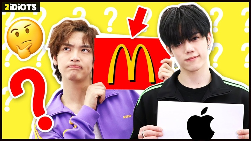 2 IDIOTS | Ep.41 - *You all know this LOGO, right!😈* GUESS THE CORRECT LOGO CHALLENGE with 2idiots! 🤔😵