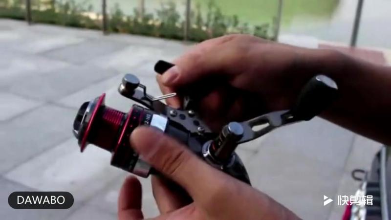 Катушка с интересным механизмом намотки