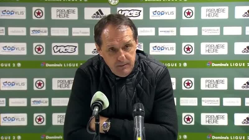 Faruk Hadžibegić: On a gagné ce match grâce à un état d'esprit exceptionnel (14/01/2019)