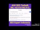 Ahli SEO Terbaik 0818963915, Rahasia Halaman Pertama Google, Adi Sutrisno Hoo, Master SEO Terbaik.
