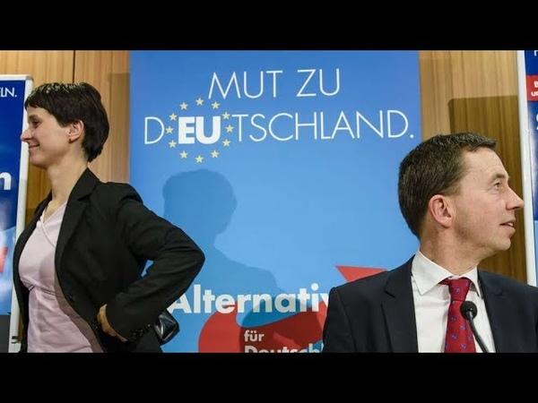 AfD verweigert aus Angst vor dem Volk offenes Mikrofon in Dresden 9. Dezember 2018