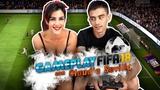 (STRIP) Gameplay FIFA 18 con Claudia Sevilla un gol una prenda (CON FINAL FELIZ)