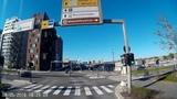 Cabview Oslo, Norway, Norwegia. Drive through the city
