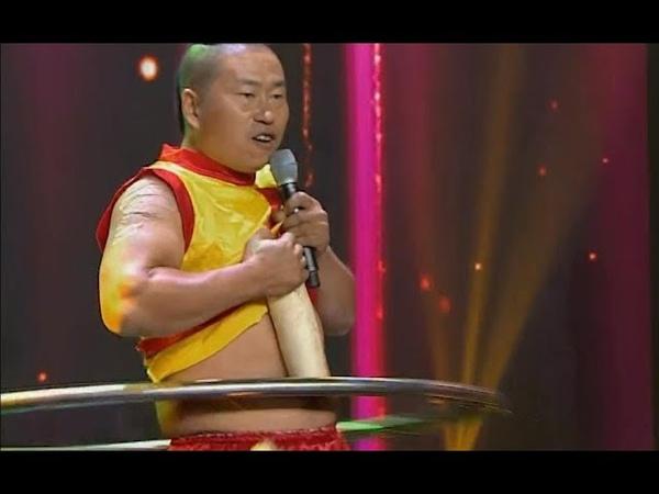 Qi Gong: hula hoop with blades | CCTV English