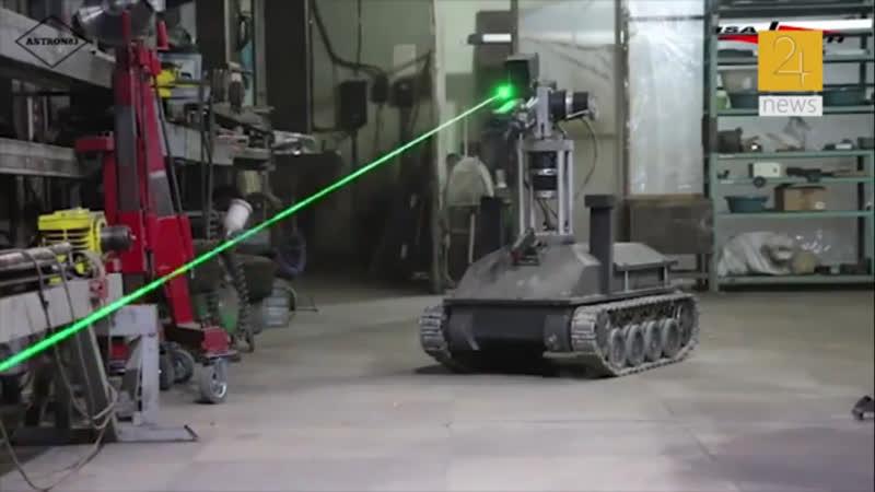 Փորձարկվել է հայկական առաջին ռազմական ռոբոտը