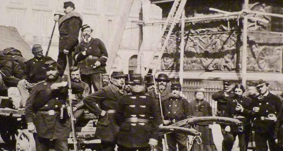 Парижские коммунары