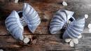 Красивые банты из ленты своими руками 🎀 Мастер класс Канзаши